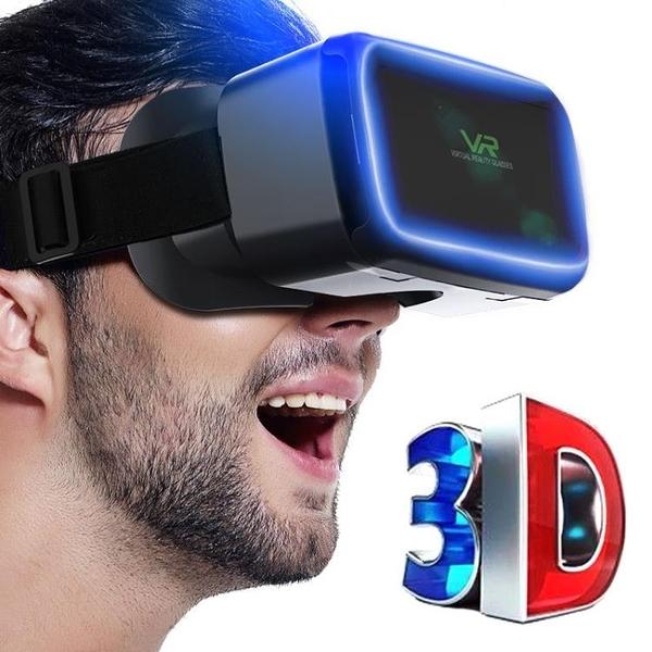 6代高配頭戴式虛擬實境vr眼鏡手機3D電影ar遊戲專用安卓