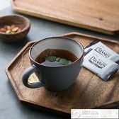 餐盤 朵頤日式創意相思木托盤茶盤原木餐盤點心盤茶杯托盤小食盤擺盤 居優佳品