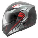 【東門城】ASTONE RT1100 GG23(平黑紅) 可掀式安全帽 雙鏡片