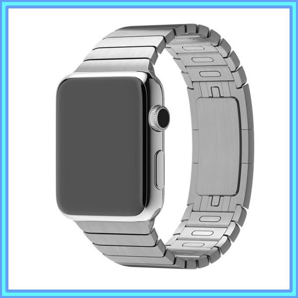 蘋果 apple watch 表帶 不銹鋼 iwatch2 金屬鏈式蘋果手表表帶男女42