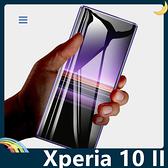 SONY Xperia 10 II 全屏弧面滿版鋼化膜 3D曲面玻璃貼 高清原色 防刮耐磨 防爆抗汙 螢幕保護貼