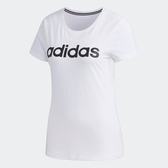 ADIDAS NEO ESSENTIALS 女裝 短袖 慢跑 訓練 休閒 純棉 白【運動世界】FP7873