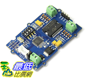 [106美國直購] Seeedstudio-Grove - I2C Motor Driver-dual channel H-bridge driver chip