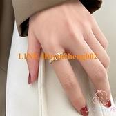 女士時尚指環戒指輕奢小眾設計精致開口食指戒【少女研究院】