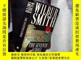 二手書博民逛書店WILBUR罕見SMITH THE SEVENTH SCROLL