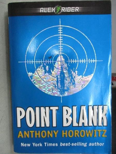 【書寶二手書T5/原文小說_FUW】Point Blank_Anthony Horowitz