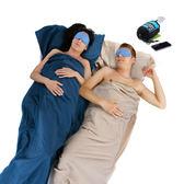 PUSH!戶外休閒旅遊用品 可拼接枕部頭套設計旅行被套毯四季純棉睡袋(一入)P24