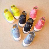 春秋兒童帆布鞋男童鞋子女童小孩寶寶布鞋
