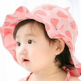 嬰兒帽子春秋薄款遮陽帽女寶寶漁夫帽夏季帽子太陽帽