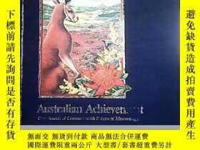 二手書博民逛書店AUSTRALIAN罕見ACHIEVEMENT【澳大利亞的成就】Y6332 看圖 看圖 出版1987
