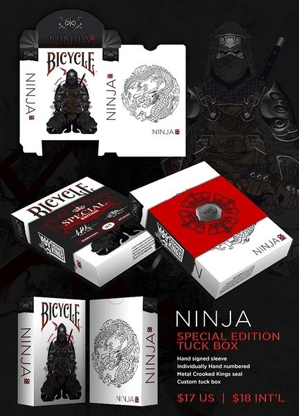 【USPCC 撲克】SE ninja deck playing card