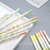 ﹝角落生物木頭鉛筆6入﹞正版 鉛筆 筆 原木鉛筆 HB 文具〖LifeTime一生流行館〗