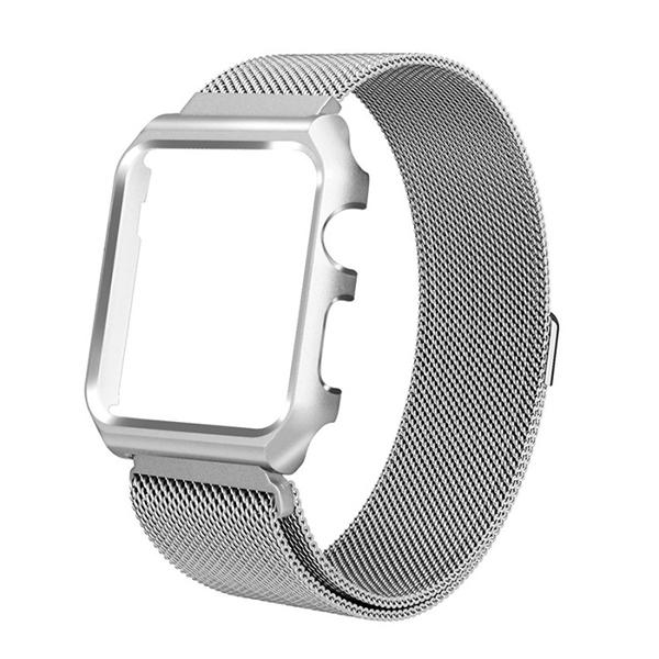 Apple Watch  錶帶 手錶保護殼 38mm 42mm 米蘭金屬 手錶錶帶 手錶 保護殼 Apple Watch保護殼