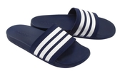 Adidas Adilette Cloudfoam 深藍軟底拖鞋男女款-NO.B42114