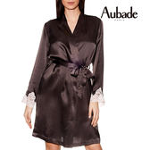 Aubade-VI蠶絲L/XL及膝外袍