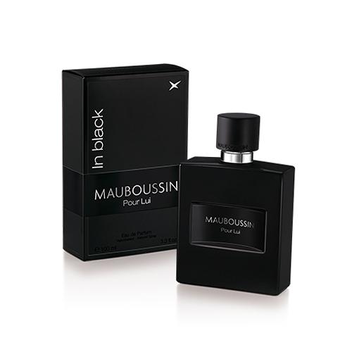 (即期品)MAUBOUSSIN Pour Lui In Black 夢寶星黑色絕對男性淡香精 50ml