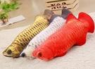【60公分】金龍魚 紅龍抱枕 仿真魚系列 絨毛娃娃 玩偶 午睡枕 靠墊 聖誕禮物交換禮物 水族館布置