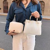 高級感包包洋氣女包新款夏季潮韓版百搭斜挎包果凍時尚手提包 蘑菇街小屋