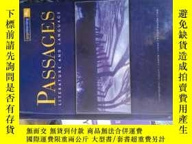 二手書博民逛書店Passages罕見11: Literature and Lan