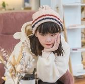 月子帽 帽子女春韓版加絨加厚月子保暖百搭潮毛線帽可愛學生針織套頭帽【快速出貨八折搶購】