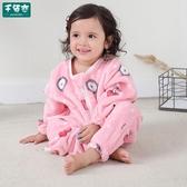 防踢被 嬰兒睡袋兒童秋冬季加厚法蘭絨連體睡衣新款珊瑚絨寶寶分腿防踢被 新年禮物