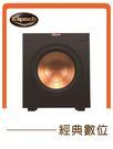 經典數位~美國Klipsch R-10SW 重低音喇叭 精密高性能深沉低音 前向式單體 全數位放大器 / 黑