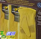 [COSCO代購] 促銷至11月25日 W121147 真皮工作手套M號11組(每組3雙)