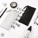 筆袋女簡約創意PU手包化妝包