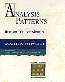 二手書博民逛書店《Analysis Patterns: Reusable Object Models》 R2Y ISBN:0201895420