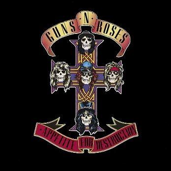槍與玫瑰合唱團 毀滅慾 全面出擊 訪華特典 CD Guns N' Roses Appetite For Destruction 免運 (購潮8)