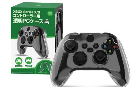 [哈GAME族]滿$399免運費 可刷卡 新款主機手把專用 全新 良值IINE Xbox Series L439 手把透明水晶殼