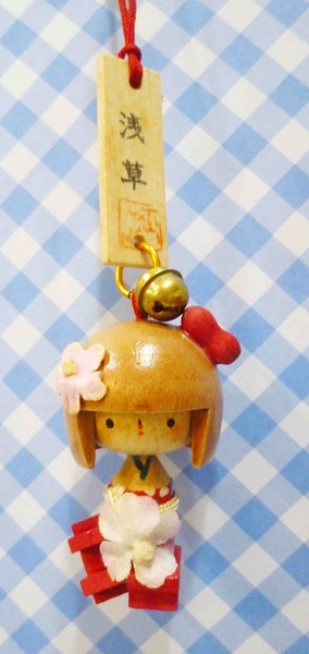 【震撼精品百貨】日本精品百貨-日本淺草吊飾-和服花