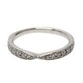 Tiffany & Co 蒂芬妮 Harmony系列鑲鑽柏金戒指PT950 Ring 【BRAND OFF】
