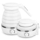 可折疊電熱水壺便攜式迷你家用小型旅行燒水壺自動保溫開水壺 韓國時尚週