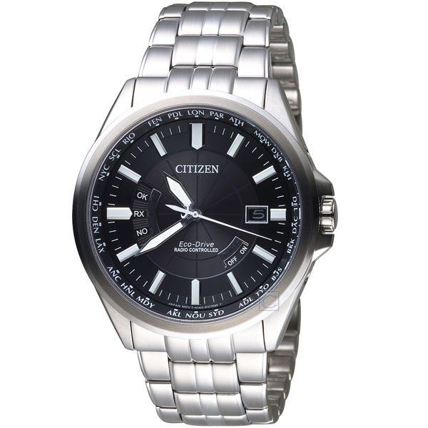 星辰CITIZEN世界城市光動能電波腕錶  CB0180-88E