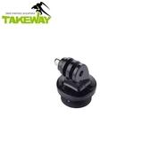 TakeWay T-RC03  運動攝影機專用圓形快拆座 可搭配R1之快拆連結原廠公司貨【聖影數位】