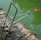 釣魚支架...