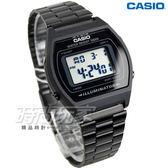 CASIO卡西歐 B640WB-1A 電子錶 B640WB-1ADF 男錶 中性錶 運動錶 學生錶 日期 計時碼表 黑 LED照明