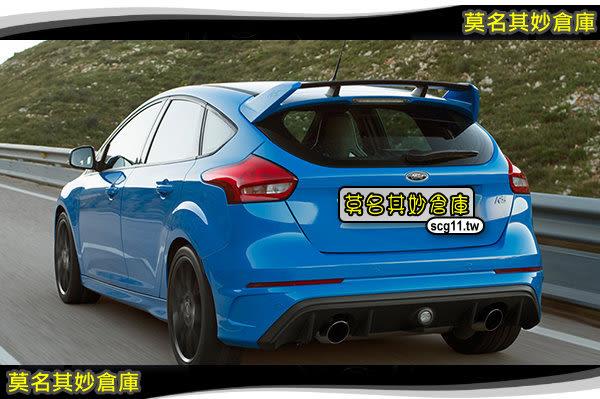 莫名其妙倉庫【CU029 RS後保桿】後保險桿總成 含霧燈 不含排氣管 RS標 Focus MK3.5