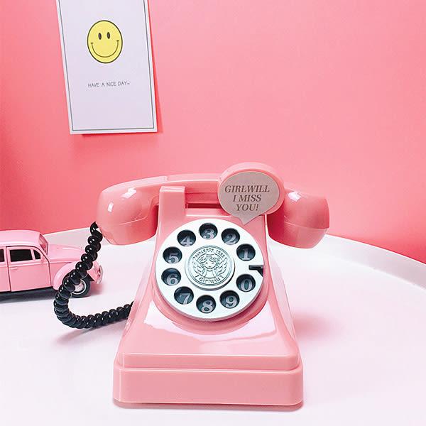 TOOKI & CO【Z436163】趣味復古風電話造型存錢筒/儲蓄罐/耶誕禮物/交換禮物-Eminent