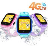 IS愛思 CW-14 4G LTE定位防水兒童智慧手錶雪片藍