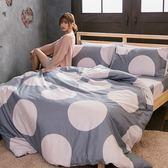 [SN]#B175#寬幅100%天然極緻純棉5x6.2尺雙人床包+舖棉兩用被套+枕套四件組*台灣製/鋪棉
