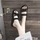 平底涼鞋 兩穿涼鞋女2021年夏季新款百搭配裙仙女風時裝學生平底鞋子ins潮 智慧 618狂歡