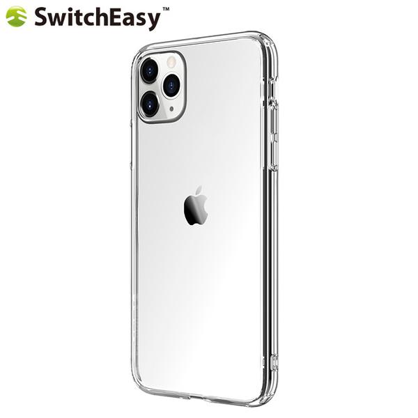 SwitchEasy Crush iPhone 11 Pro Max(6.5吋)透明吸震防摔保護套