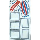 【收藏天地】創意生活*相框式裝飾壁貼-法國Bonjour