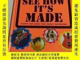 二手書博民逛書店英文原版罕見SEE HOW IT S MADE(看看它是怎麼做的