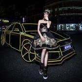 汽車輪轂改裝飾輪胎反光貼紙機車自行車身【極簡生活館】