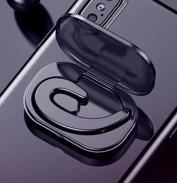 藍芽耳機 【現貨】夏新 S 9不入耳智慧耳機無線迷你超小耳塞掛耳式運動開車 維多原創