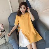 【618好康鉅惠】孕婦夏裝連身裙時尚2018新款韓版寬鬆孕婦裙