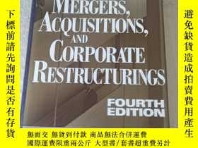 二手書博民逛書店Mergers,罕見acquisitions, and corp